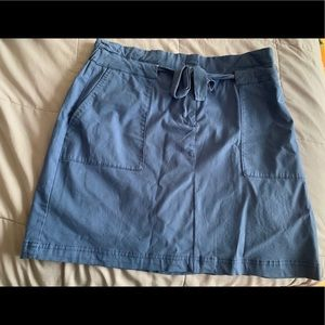 Tommy Hilfiger Navy Skirt ( Size 14)